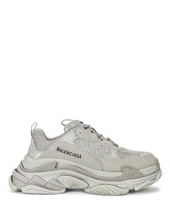 Triple S Sneakers in Grey