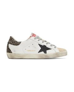 白色Super-Star运动鞋