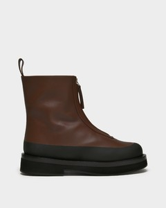 Malmok Ankle Boots in Brown Leather
