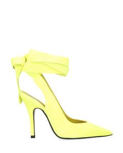 Rado black leather mules