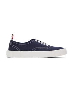海军蓝Heritage硫化运动鞋