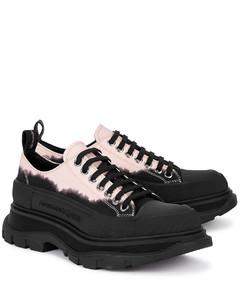 Tread Slick tie-dye canvas sneakers