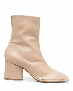 Women's Ludo Drench Leather Quilted Cupsole Trainers - White