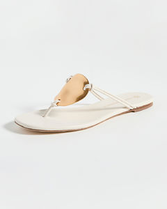 Sand suede slippers