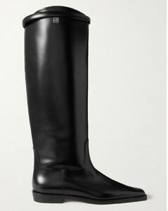 The Riding Leather Knee Boots