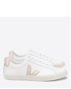 Women's Esplar Leather Trainers - Extra White/Platine