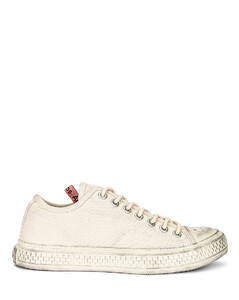 Low Top Sneaker in Ivory