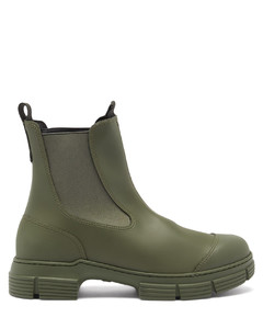 Chunky recycled-rubber Chelsea boots