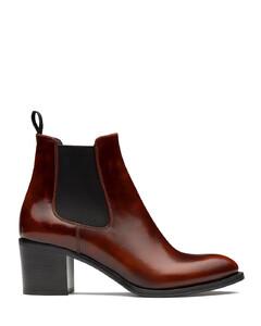 Polished FumèHeeled Boot
