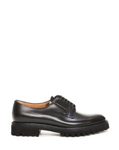 黑色厚底切尔西靴