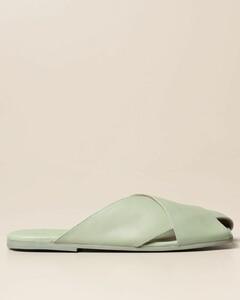 sandal in calfskin