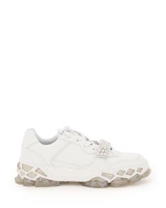 Sneakers Jimmy Choo for Women White Crystal