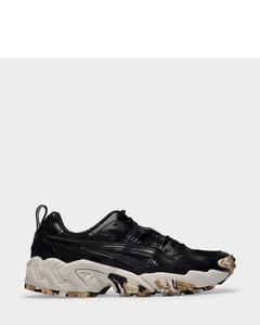 Gel-Nandi Sneakers in Black Recycled Leather