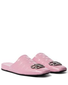 Cosy BB鳄鱼纹皮革便鞋