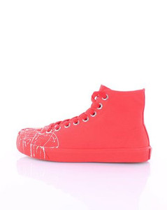 Sneakers high Women Red