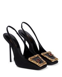 黑色&白色千鸟格切尔西靴
