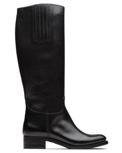 Calf Leather Knee High Boot