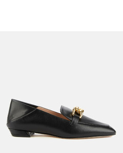 Women's Mickee Leather Loafers - Black