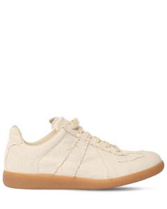 20mm Replica Linen Canvas Sneakers