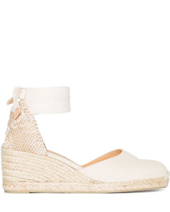 Oversize Sneakers In White Leather With Shock Pink Detail