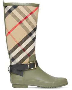 20mm Simeon Canvas & Rubber Rain Boots