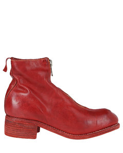 PL1 Front Zipped Ankle Boots