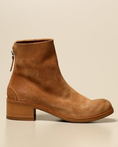 Listo Zip ankle boot in real suede