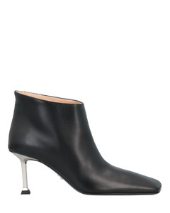 Woman Atomic West Leopard-print Calf Hair Ankle Boots