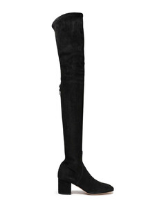 Garavani Woman Stretch-suede Thigh Boots