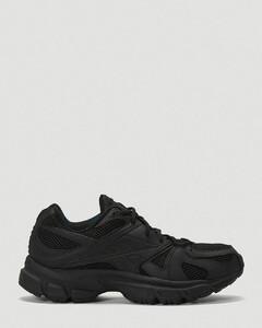 X Reebok Spike Runner Sneakers in Black