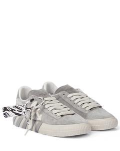 Low Vulcanized绒面革运动鞋