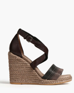 H564 sneakers in leather with wavy H