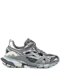 Grey / Black Track.2 Open Sneakers