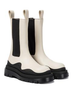 BV Tire皮革及踝靴