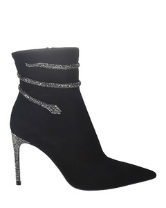 Crystal Embellished Boots