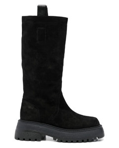 Carène leather ankle boots