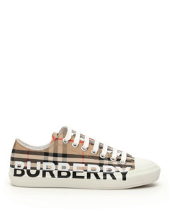 Vintage Checked Sneakers