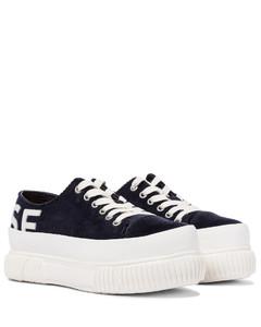 x Both灯芯绒厚底运动鞋