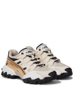 Garavani Climbers皮革边饰运动鞋