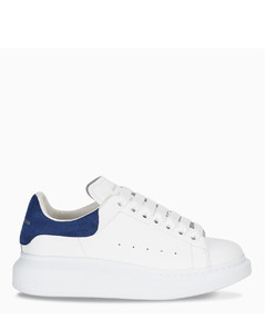 White and Paris blue Oversized sneakers