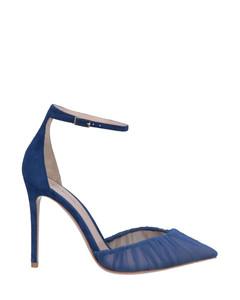 灰褐色Embroidered Crisi踝靴