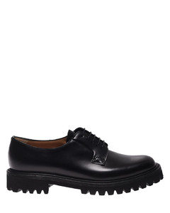 Shannon T derby shoes in black