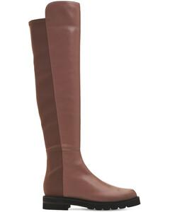 30mm 5050 Lift Leather & Gabardine Boots