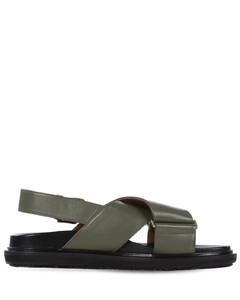 30mm Fussbett Leather Sandals