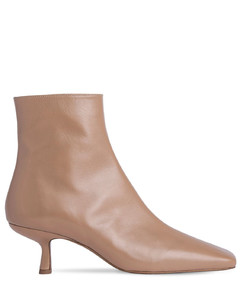 50mm Lange Leather Ankle Boots