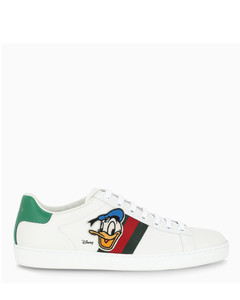 Women's Disney x Gucci Donald Duck Ace sneakers