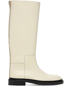 20mm Leather Tall Boots