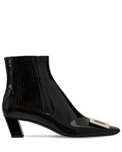 45mm Belle Vivier Patent Leather Boots