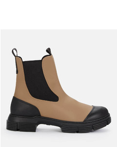 Women's Recycled Rubber Chelsea Boots - Fossil