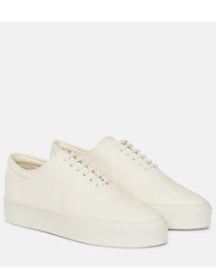 Marie H皮革运动鞋